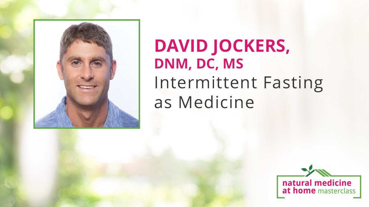 David Jockers, DNM, DC, MS