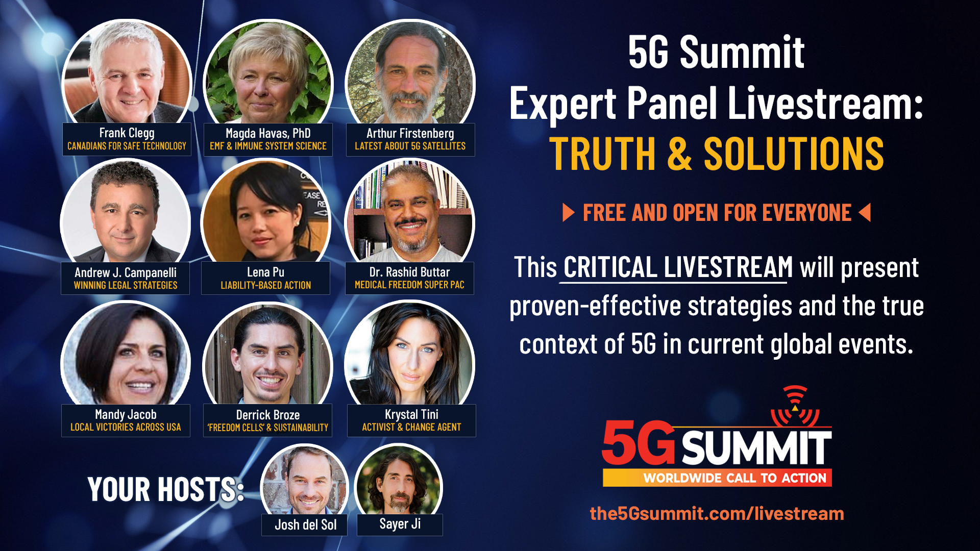 Expert Panel Livestream: Truth and Solutions
