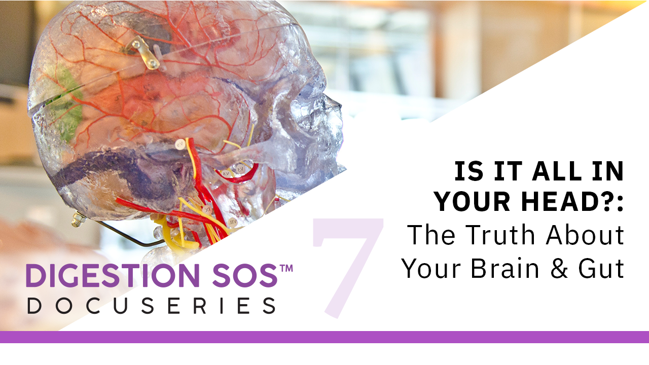 Episode 7: Is It All in Your Head?: The Truth about Your Brain & Gut