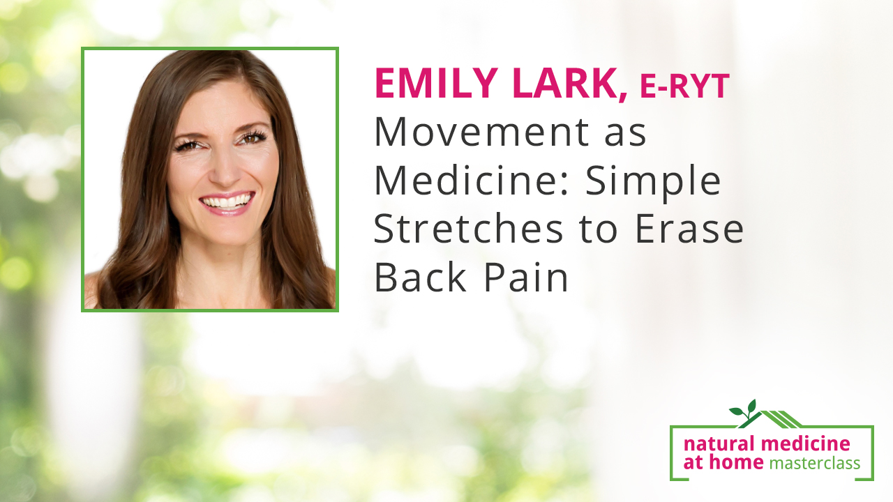 Movement as Medicine: Simple Stretches to Erase Back Pain