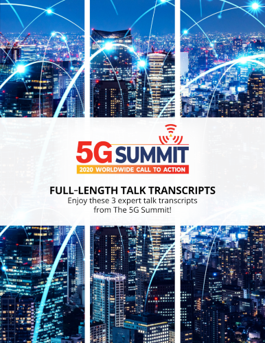 3 Interview Transcripts from The 5G Summit