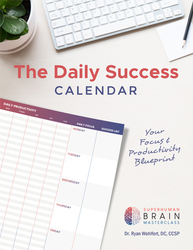 Daily Success Calendar: Focus and Productivity Blueprint