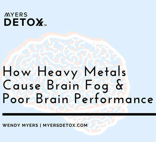 How Heavy Metals Cause Brain Fog and Poor Brain Performance eBook
