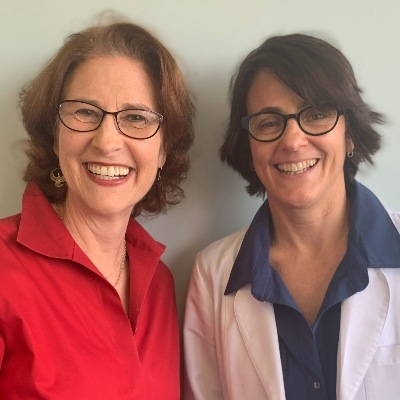 Drs. Margaret Christensen and Heidi Iratcabal