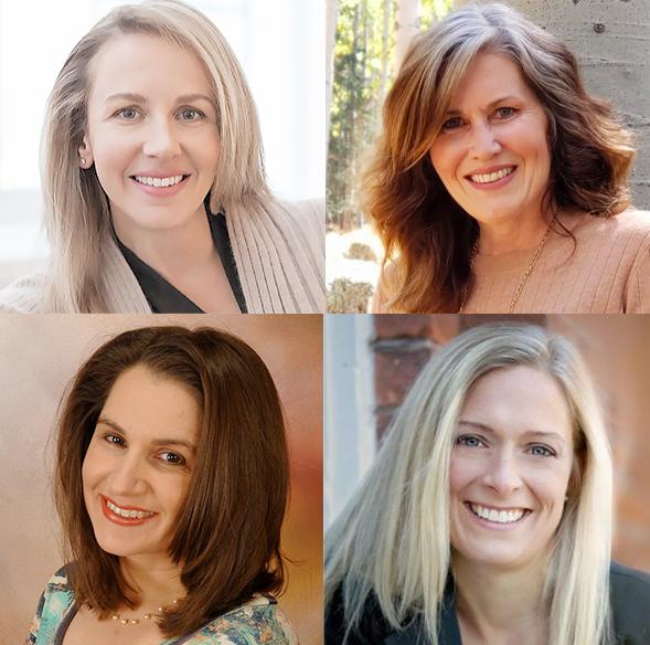 Tara Hunkin, Terri Hirning, Kristi Wees, Beth Lambert