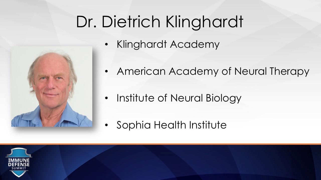Dietrich Klinghardt - Immune Defense Summit